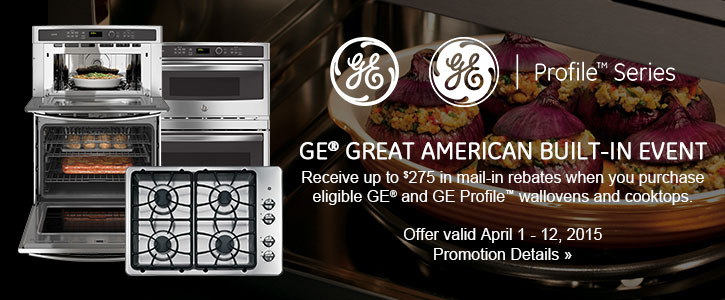 GE and GE Profile Series appliances