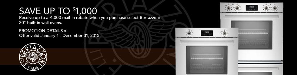 Bertazzoni appliances
