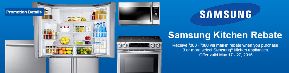 Samsung appliances