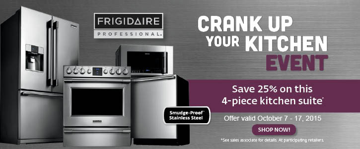 Frigidaire Professional appliances