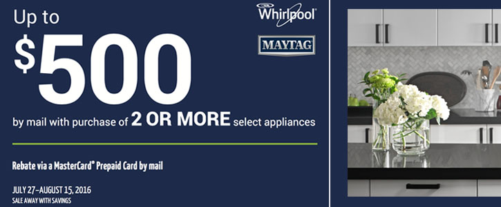 Maytag and Whirlpool Appliances