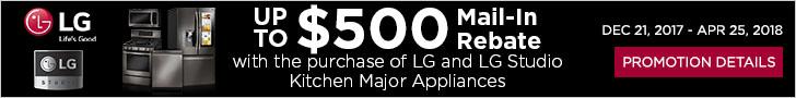 LG and LG Studio appliances