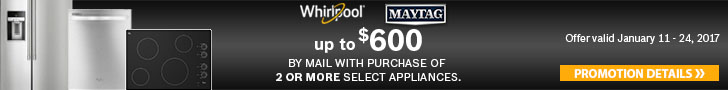 Whirlpool Maytag appliances
