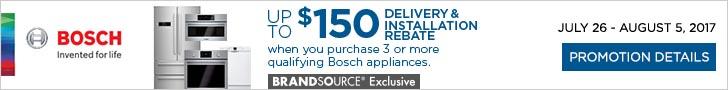 Bosch appliance