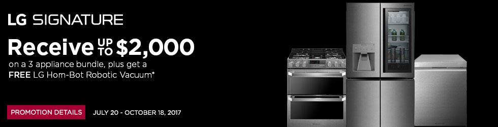 LG Signature appliances