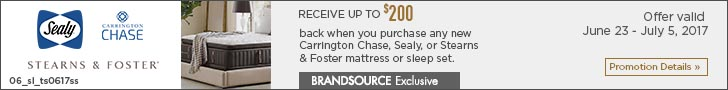 Sealy, Carrington Chase, Stearns & Foster Mattress