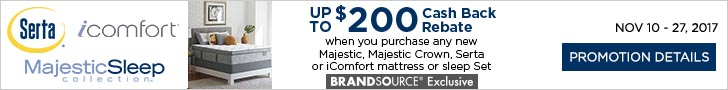 Serta, icomfort, and MajesticSleep collection