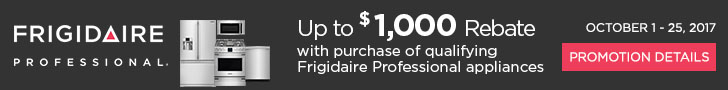 Frigidaire Professional appliances