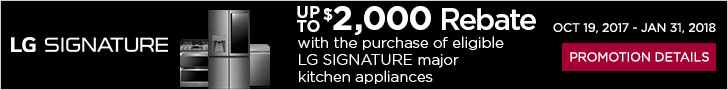 LG SIGNATURE appliances