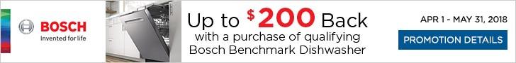 Bosch BenchmarkTM appliances