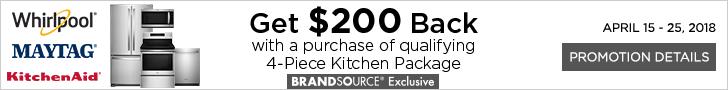 Whirlpool, Maytag, and KitchenAid appliances