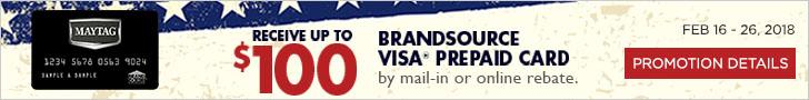 Maytag BrandSource Credit Card Offer