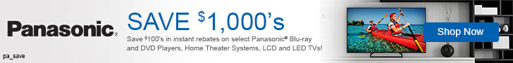 Panasonic electronics