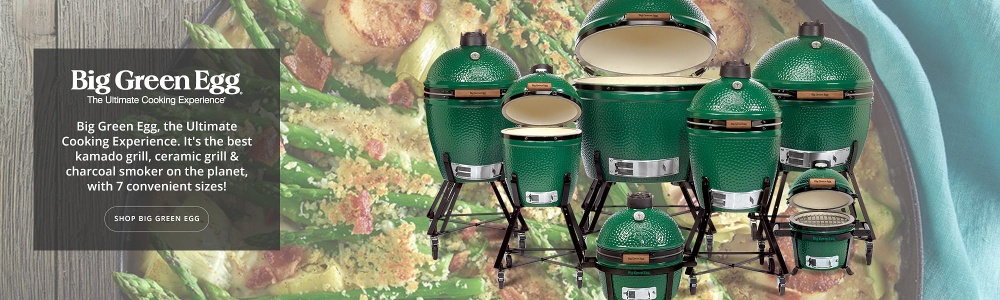 Big Green Egg Banner