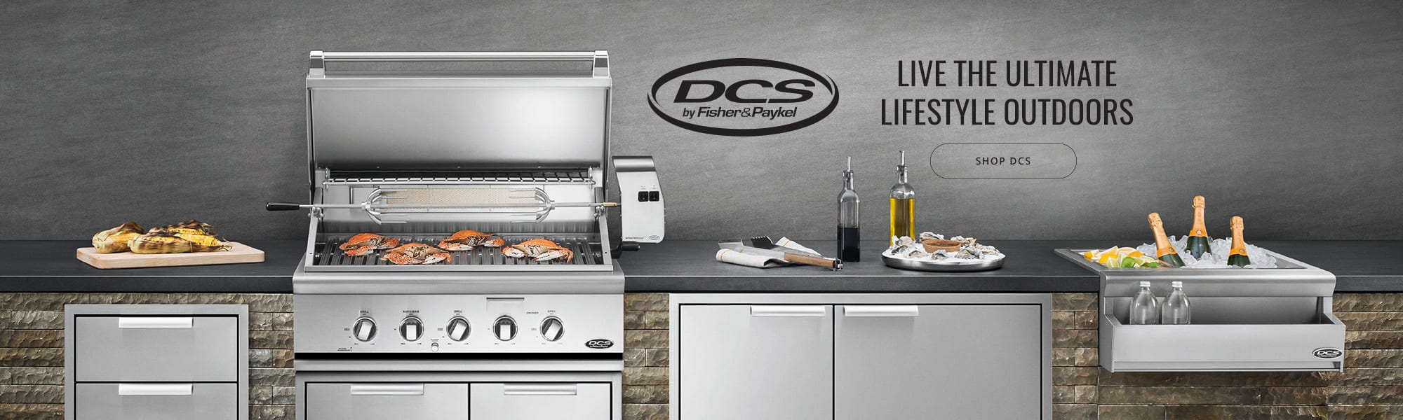 DCS Fisher and Paykel banner