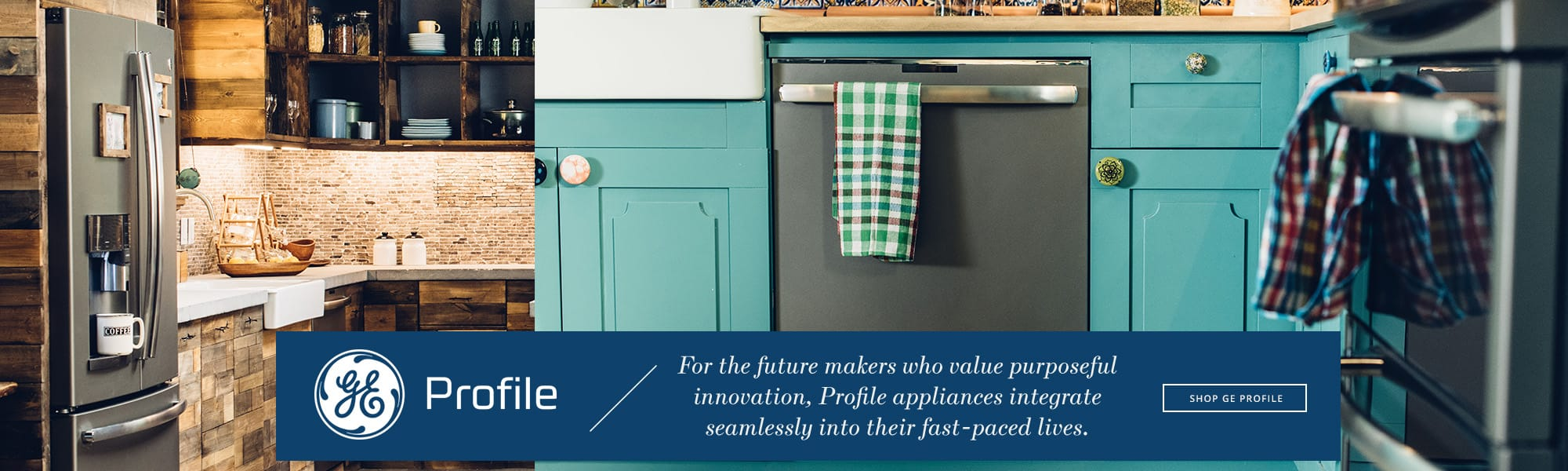 GE Profile appliances