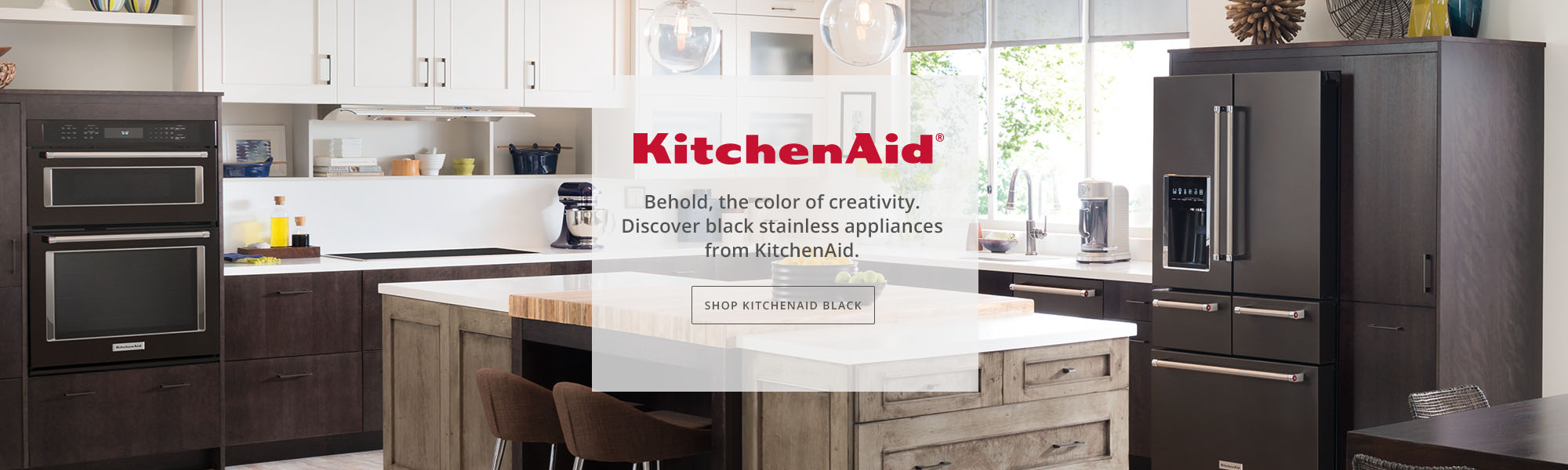 KitchenAid Black appliances