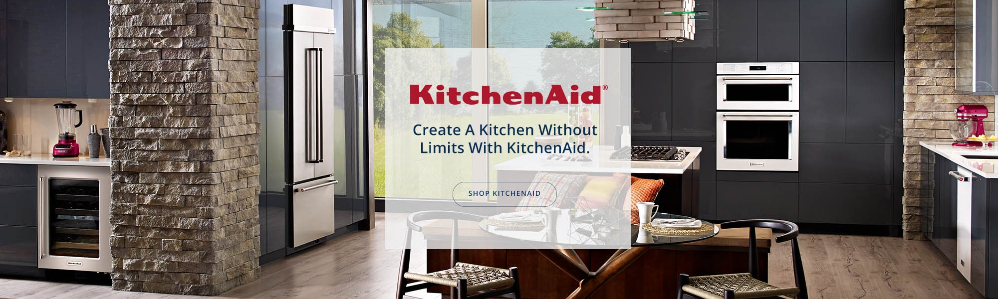 Kitchen Aid banner