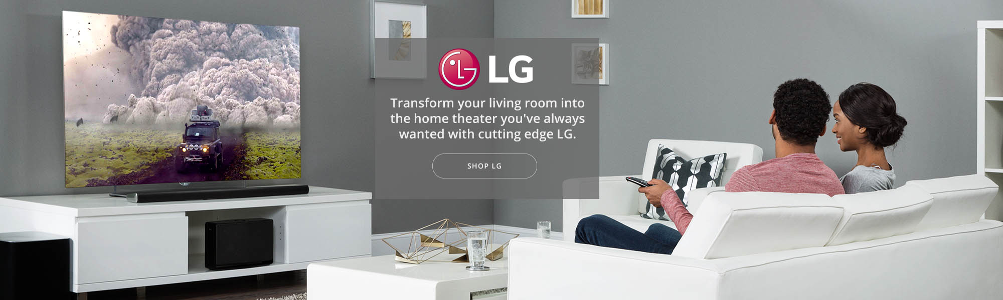 LG Electronics banner