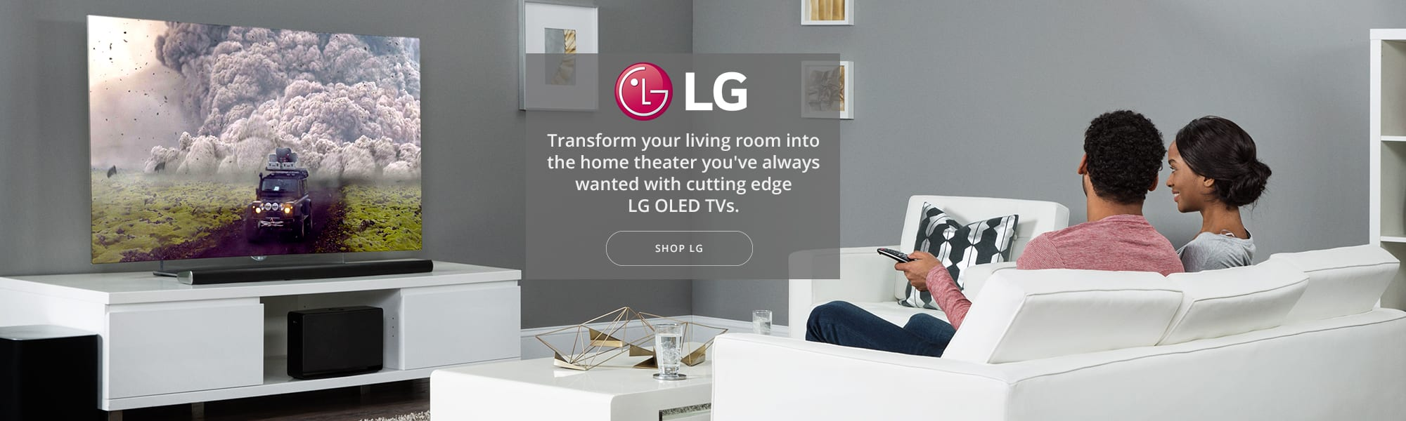 LG TV banner