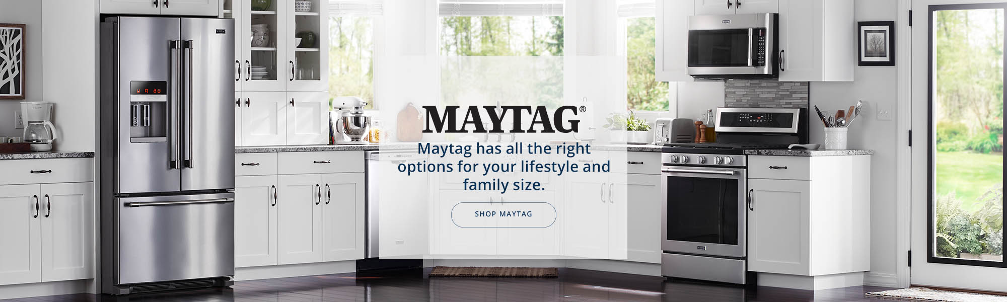 Maytag banner